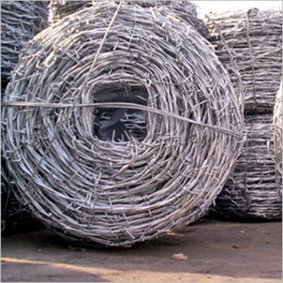 Barbed Wire In Chain Link Fencing