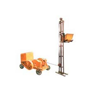 Builders Hoist Manufacturer and Supplier in Hisar