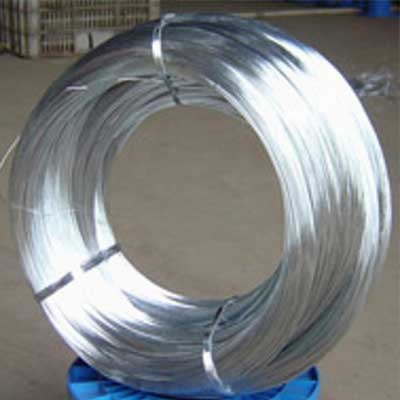 Galvanized Wire In Chain Link Fencing