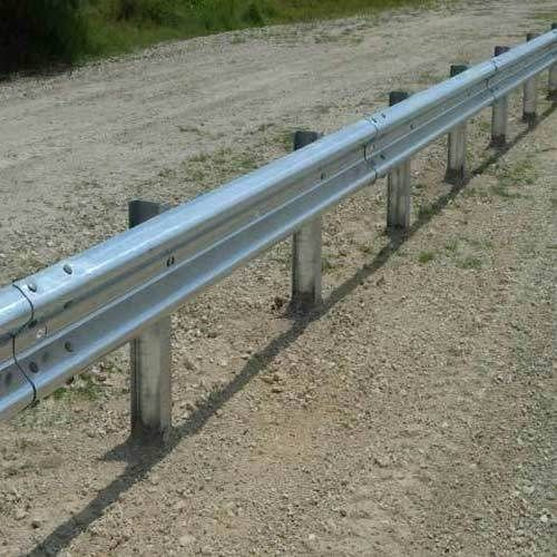W Beam Highway Crash Barrier Manufacturer and Supplier in Hauz Khas