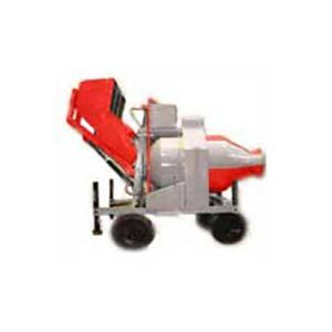 Reversible Concrete Mixer with Electronic Batcher